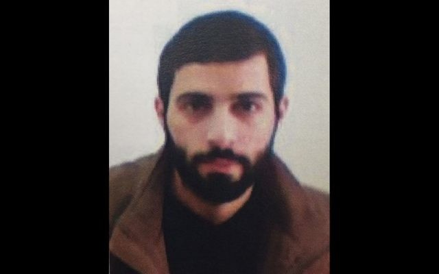 Malek Nizar Yousef Qazmar. (Shin Bet)