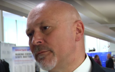 Alan Clemmons, shown in 2015, called J Street anti-Semitic at an event on March 29. (Screenshot from YouTube)