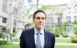 Bret Stephens at alumni weekend at the University of Chicago, June 7, 2014. (Jason Smith via JTA)