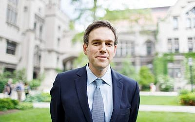 New York Times op-ed columnist Bret Stephens. (Jason Smith via JTA)