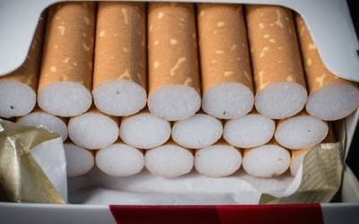 Israel's Sephardi chief rabbi said it's better to not get addicted to smoking. (Matt Cardy/Getty Images)