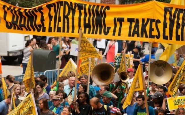 A view of the 2014 People's Climate March in New York City. (Flickr Commons)