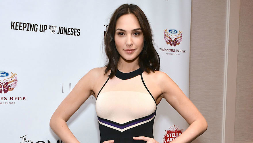 Israeli actress Gal Gadot at a screening of the film'Keeping Up With The Joneses at The London Hotel in West Hollywood California