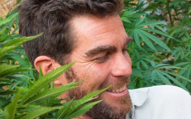 Matthew Gerson's Foria Pleasure product is made of oil from the cannabis plant. (Courtesy of Foria)