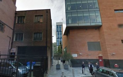 Manchester and Salford Magistrates' Court (Screen capture: Google maps)