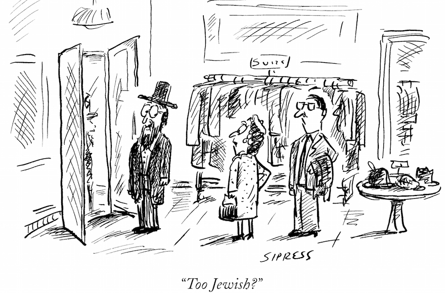 (David Sipress/The New Yorker Collection/The Cartoon Bank, via JTA)