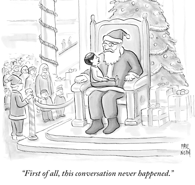 (Paul Noth/The New Yorker Collection/The Cartoon Bank, via JTA)