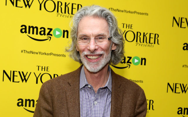 Cartoonist Bob Mankoff at the Crosby Hotel in New York City, Feb. 9, 2016. (Cindy Ord/Getty Images for Amazon Studios, via JTA)