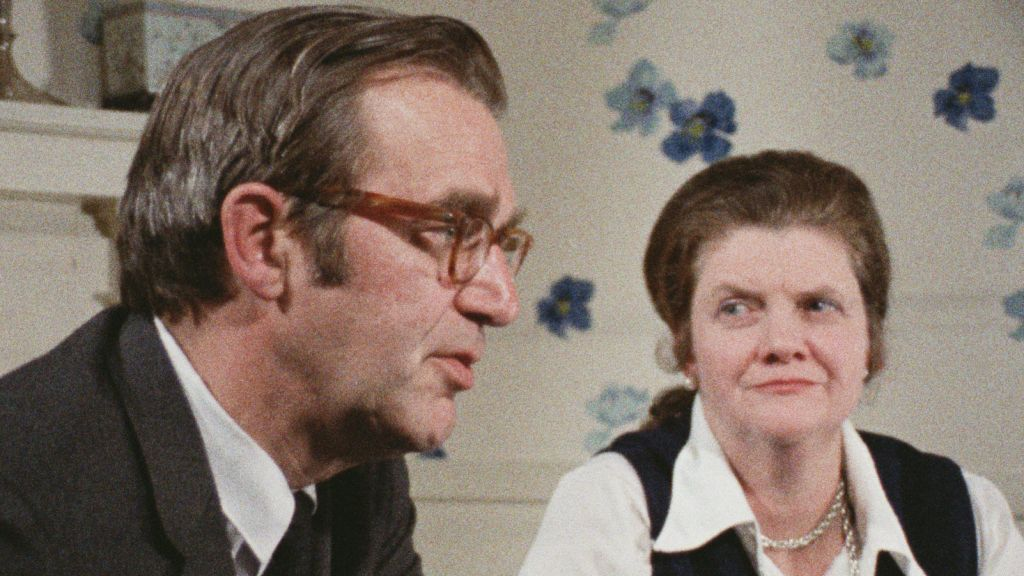 Screenshot from 'The Memory of Justice' of Robert and Louise Ransom, who were active in the antiwar movement in the 1960s and 70s. (Courtesy HBO)
