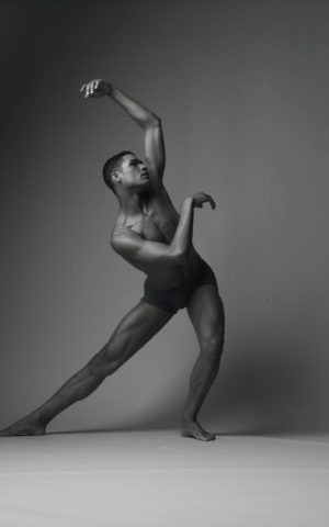 Dancer, choreographer, and professor Adam McKinney. (Andrew Eccles)