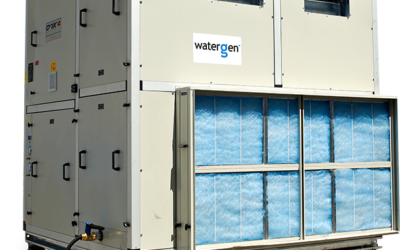 Water-Gen's large scale water generator (Water Gen)