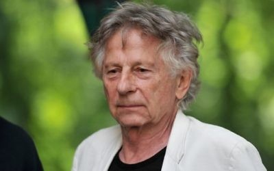 Oscar-winning Polish-French director Roman Polanski, photographed in Chanceaux-près-Loches, central France, in August 28, 2016.   / AFP PHOTO / GUILLAUME SOUVANT