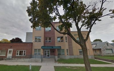 Yeshiva Elementary School in Milwaukee, Wisconsin (Screen capture: Google maps)
