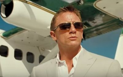 Daniel Craig as James Bond, illustrative (YouTube screenshot)
