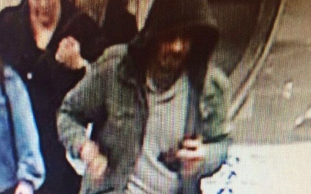 Swedish police released a photo taken from surveillance footage of the main suspect in a truck ramming attack in Stockholm on April 7, 2016 that killed at least three people. (Swedish police)