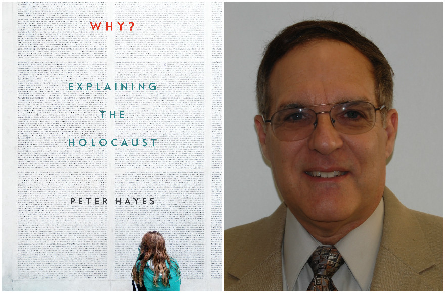 'Why? Explaining the Holocaust,' by Peter Hayes (Courtesy of W.W. Norton & Company); David Engel (Courtesy of Engel) (Photos via JTA)
