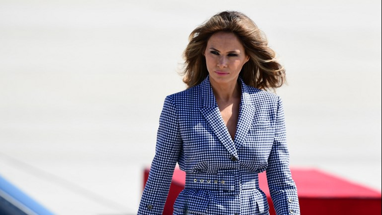 First lady's rep blasts 'false' reports about Melania Trump