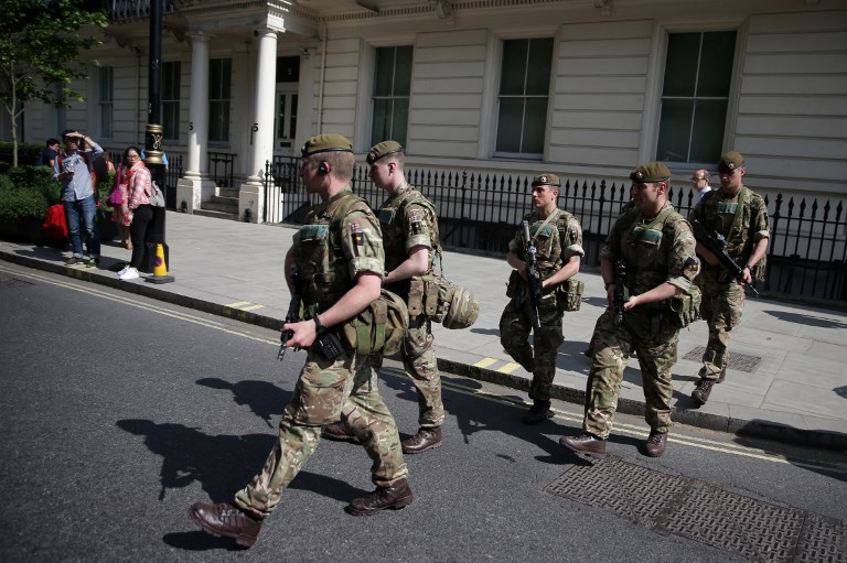British Soldiers Charged With Terror Offences To Appear In Court