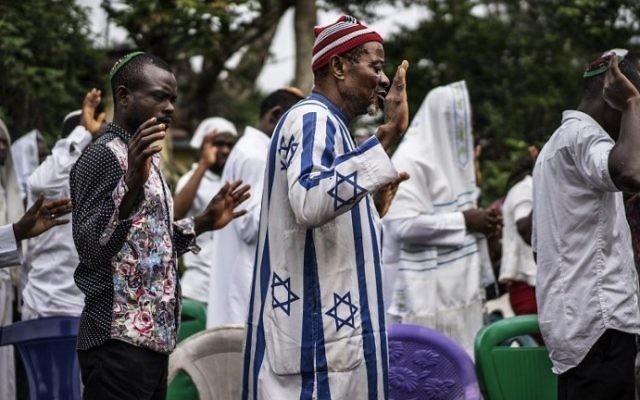 Nigerian separatist leader admits he's in Israel, says owes
