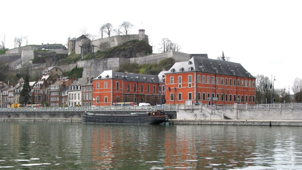The Walloon regional parliament building in the Belgian city of Namur. (CC BY 3.0, Jean-Pol Grandmont, Wikimedia Commons)