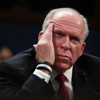 Former Director of the US Central Intelligence Agency (CIA) John Brennan testifies before the House Permanent Select Committee on Intelligence on Capitol Hill, May 23, 2017 in Washington, DC. (Alex Wong/Getty Images/AFP)