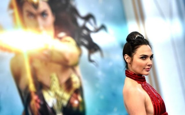 "Actress Gal Gadot arrives at the Premiere Of Warner Bros. Pictures' ""Wonder Woman"" at the Pantages Theatre on May 25, 2017 in Hollywood, California. (Frazer Harrison/Getty Images/AFP)"