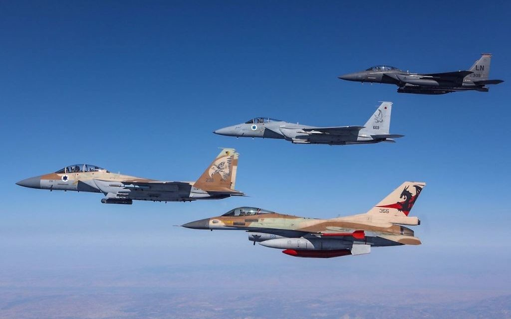 Israeli American Coalition Takes On Enemy Aircraft In