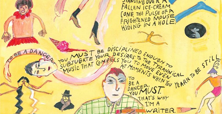Maira Kalman and Etgar Keret's collaboration in The New Yorker last November (Courtesy The New Yorker)