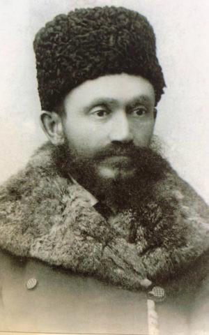 Shlomo Chaim Guterman, Irkutsk, Russia, circa 1896 (Courtesy Vladimir Rott)