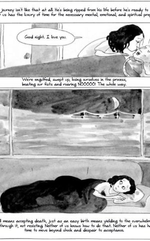 A page from 'Last Things' by Marissa Moss. (Courtesy)