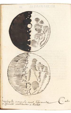 Galileo Galilei (d. 1642), Siderus Nuncius. Venice: Tommaso Baglioni, 1610. (Reproduced by permission of the President and Fellows of Corpus Christi College, Oxford)