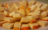 Illustrative photo of cheese. (Wikimedia Commons  via JTA)