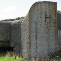 A German bunker built on the Channel island of Alderney (Andree Stephan/ Wiki media Creative commons)