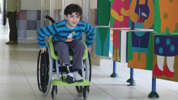 ALYN's Wheels of Hope project (Courtesy)