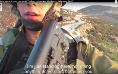 B'Tselem video screenshot