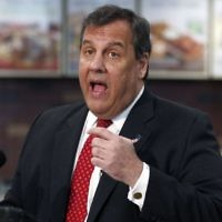In this March 23, 2017, photo, New Jersey Gov. Chris Christie speaks about jobs during a news conference in a QuickChek convenience store in Cedar Knolls, New Jersey (AP Photo/Julio Cortez)