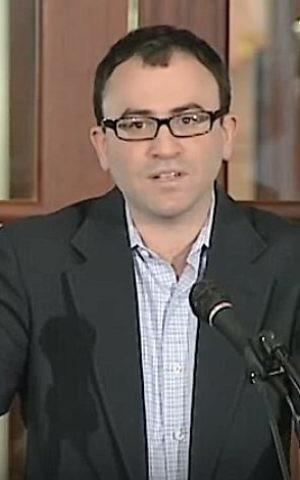 Judaic studies director at George Washington University, Prof. Daniel Schwartz. (Screenshot/YouTube)