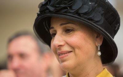 Yaffa Deri, wife of Interior Minister Aryeh Deri on May 17, 2015. (Yonatan Sindel/Flash90)
