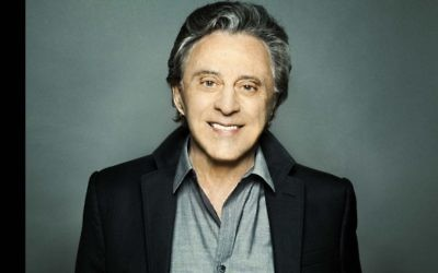 Frankie Valli comes to Israel for the first time this coming July 4, 2017 (Courtesy)