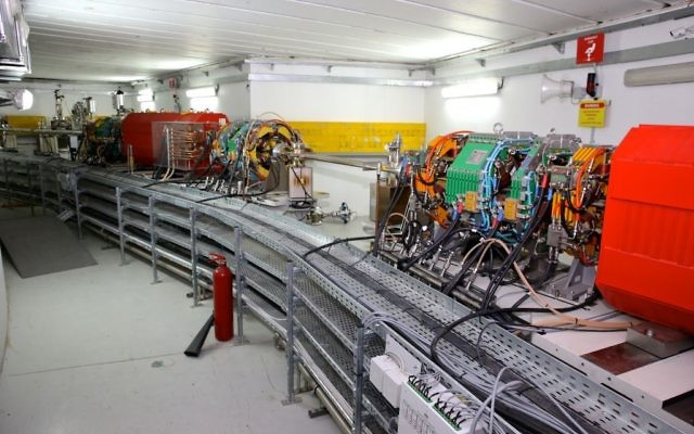 The SESAME particle accelerator in Allan, Jordan. (Sharing Knowledge Foundation)