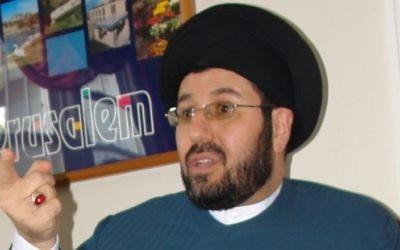 Imam Hassan Qazwini. (CC BY-SA 3.0 Greg Peterson (YOOPERNEWSMAN/Wikimedia)