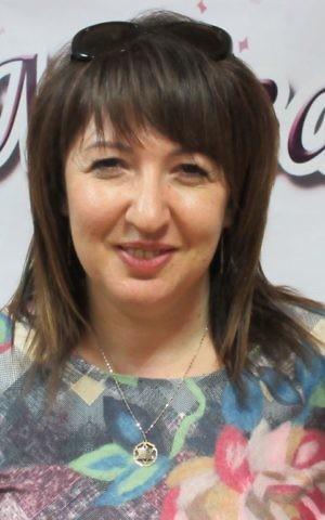 Natella Shapiro, principal of the Jewish school in Bila Tserkva, Ukraine, May 8, 2017. (Sue Surkes)
