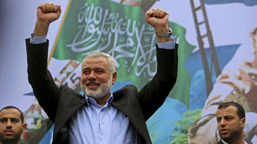 Hamas top leaders visit Egypt for national reconciliation