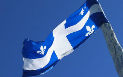 Quebec flag (Credit : AzertyFab/CC BY SA 3.0)