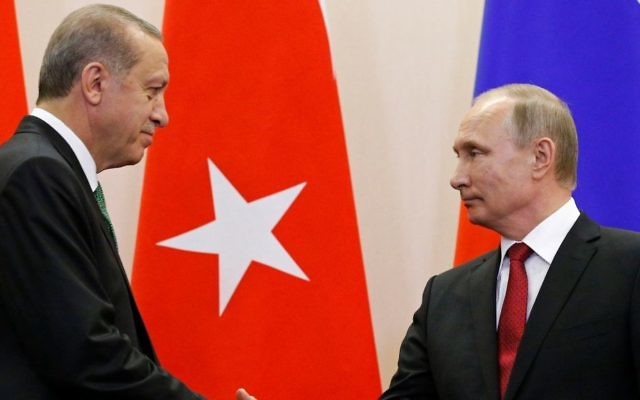 Turkey pulls out of North Atlantic Treaty Organisation exercise after Erdoğan put on 'enemies' list