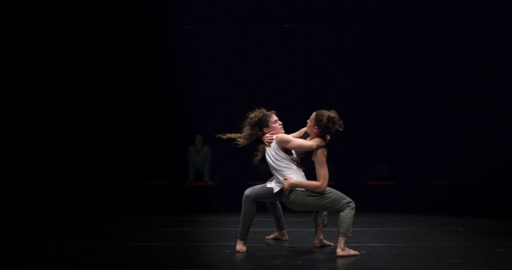 'Tech It Away,' one of the new Catamon Dance pieces premiering next week (Courtesy Avi Gorlin)