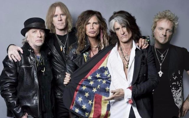 Aerosmith performs Wednesday, May 15 in Tel Aviv for the first concert of its supposedly farewell tour (Courtesy official Aerosmith Facebook page)