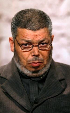 The founder of Israel's Islamic Movement Sheikh Abdullah Nimr Darwish seen in Jerusalem on December Thursday 19. 2006. (Olivier Fitoussi/Flash90)