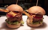 The Trumpburger, created by Jerusalem's Crave restaurant in honor of the US president's visit (Courtesy James Oppenheim)