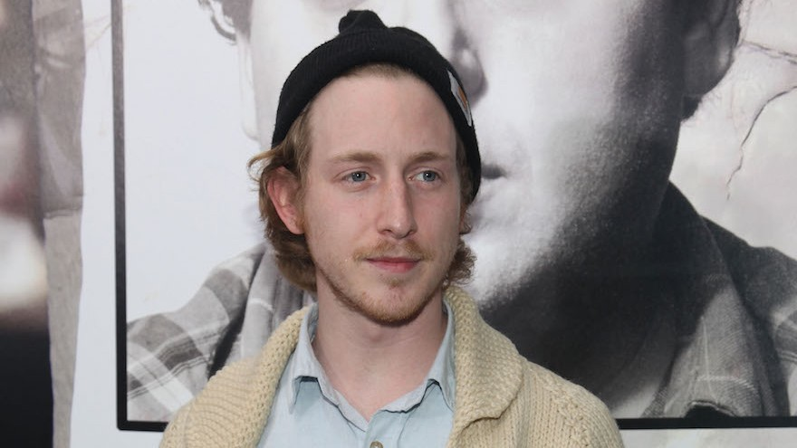 Asher Roth in New York City, Dec. 6, 2011. (Astrid Stawiarz/Getty Images via JTA)